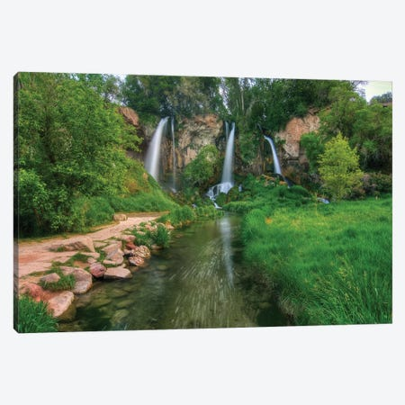 Eden Canvas Print #SHL97} by Bill Sherrell Canvas Wall Art