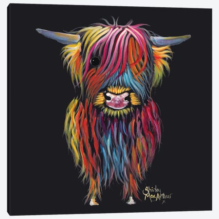 Braveheart Canvas Print #SHM11} by Shirley Macarthur Canvas Wall Art