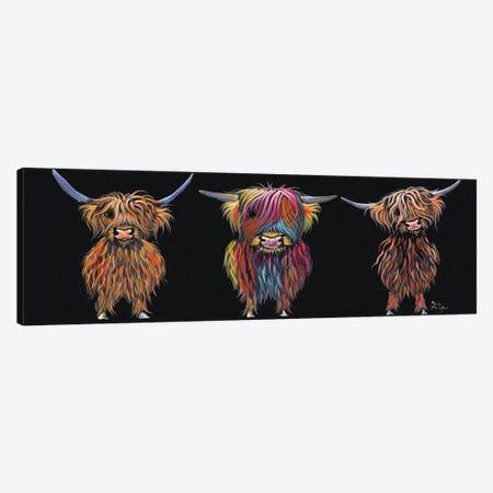 All Three Canvas Print #SHM2} by Shirley Macarthur Art Print