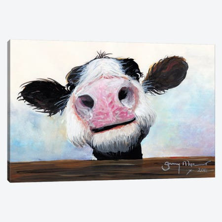 Hey! How's It Goin'! Canvas Print #SHM33} by Shirley Macarthur Canvas Wall Art