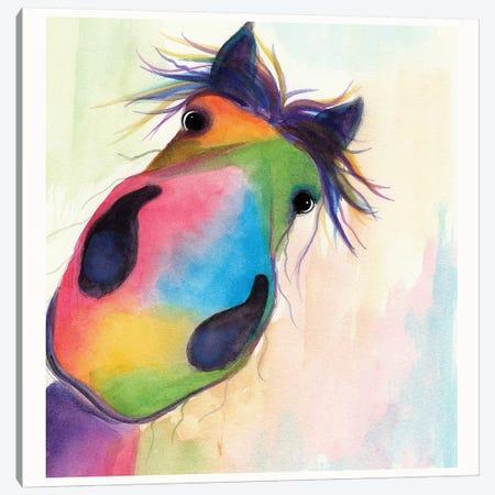 Morello Close Up Canvas Print #SHM39} by Shirley Macarthur Canvas Art