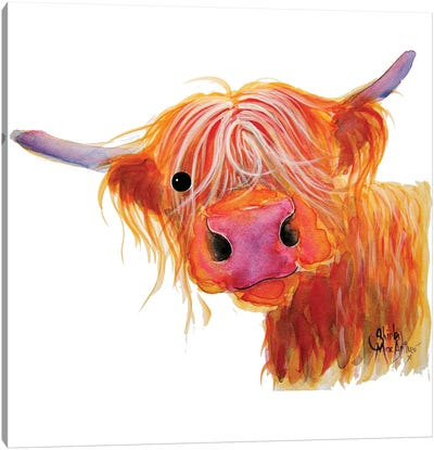 Angus Canvas Art Print