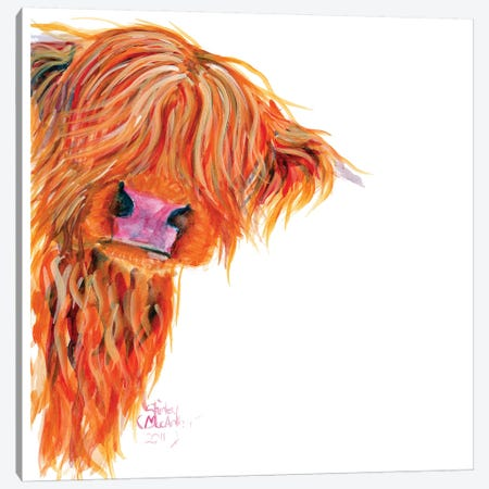 Peekaboo II Canvas Print #SHM45} by Shirley Macarthur Canvas Wall Art
