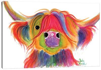 Penelope Plum Canvas Art Print