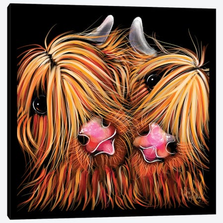 Rhubarb And Ginger Canvas Print #SHM49} by Shirley Macarthur Canvas Print