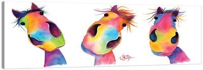 The Happy Horses Canvas Art Print