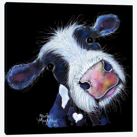 Bertha Beetroot Canvas Print #SHM5} by Shirley Macarthur Canvas Artwork