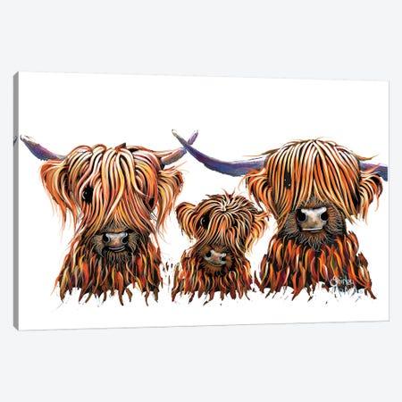 The Tangerines 3 Canvas Print #SHM63} by Shirley Macarthur Art Print