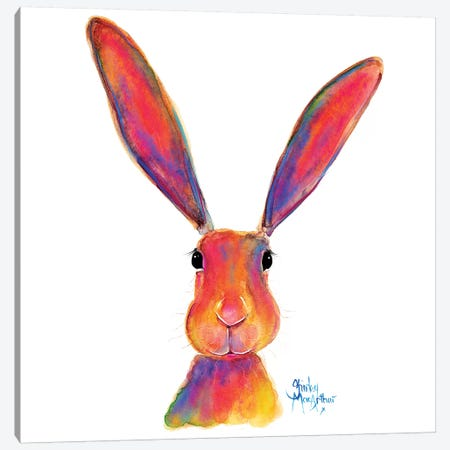 All Ears Canvas Print #SHM74} by Shirley Macarthur Art Print