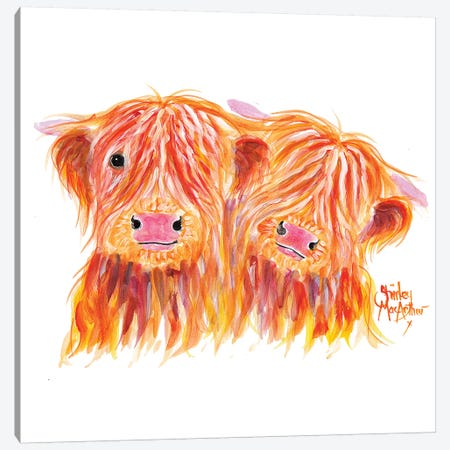 Buddies 3-Piece Canvas #SHM79} by Shirley Macarthur Canvas Art