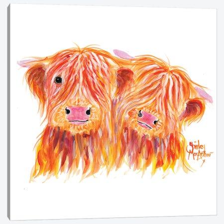 Buddies Canvas Print #SHM79} by Shirley Macarthur Canvas Art