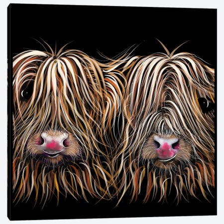 Bill And Ted Canvas Print #SHM8} by Shirley Macarthur Art Print