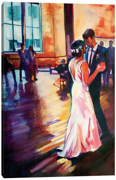 First Dance Canvas Art Print