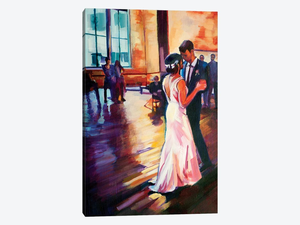 First Dance 1-piece Canvas Wall Art