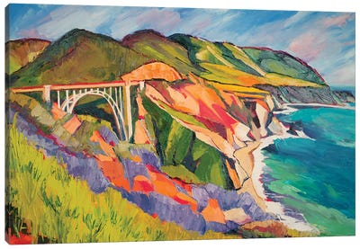 Highway 1 Canvas Art Print
