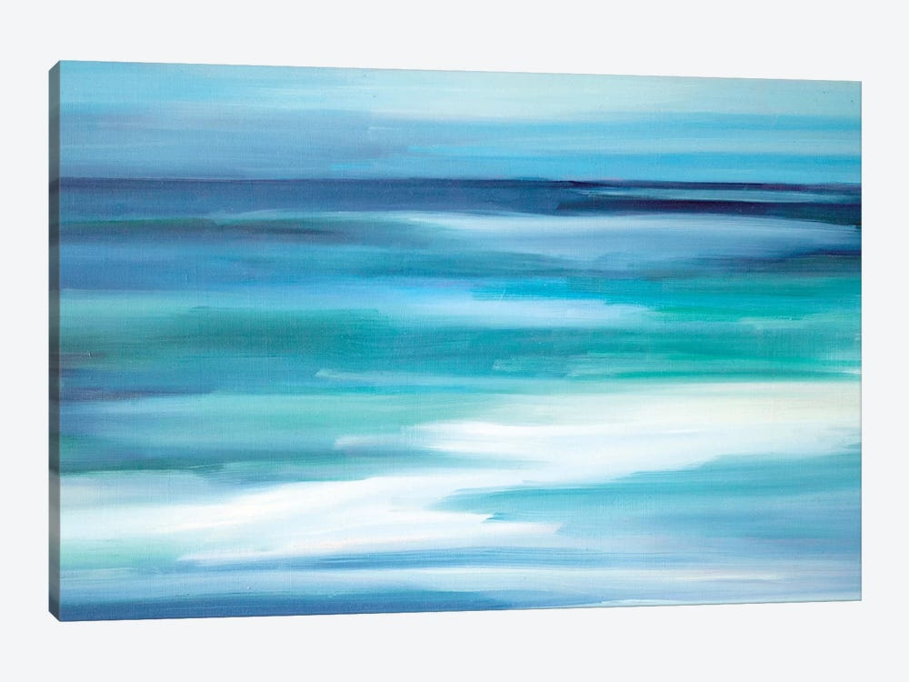 Into The Blue by Maxine Shore 1-piece Canvas Artwork