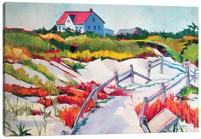 Island Beach State Park Canvas Art Print