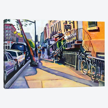 Lower East Side Canvas Print #SHO14} by Maxine Shore Canvas Print