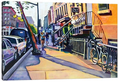 Lower East Side Canvas Art Print