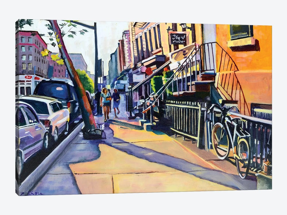Lower East Side by Maxine Shore 1-piece Canvas Art