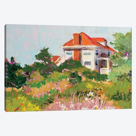 Pamet Road Hostel Canvas Print #SHO15} by Maxine Shore Art Print