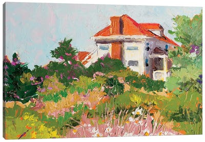 Pamet Road Hostel Canvas Art Print