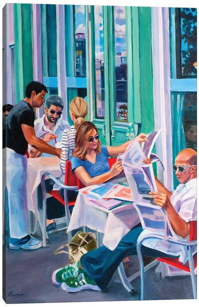 Sunday Morning Canvas Art Print
