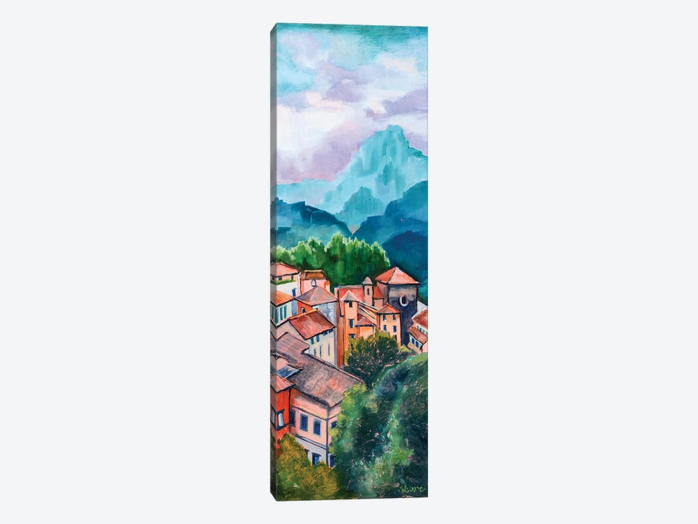 Tuscan Village by Maxine Shore 1-piece Canvas Art