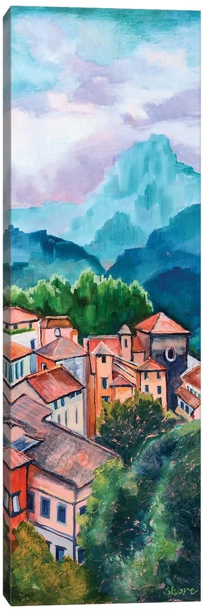 Tuscan Village Canvas Art Print