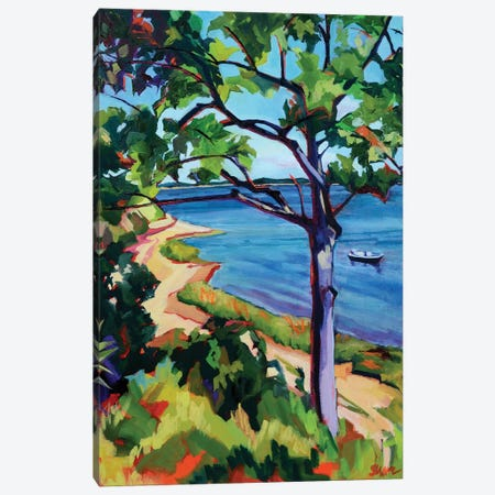 Little Pleasant Bay Canvas Print #SHO22} by Maxine Shore Canvas Art Print