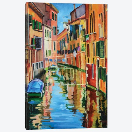 Fair Venice 3-Piece Canvas #SHO27} by Maxine Shore Canvas Artwork