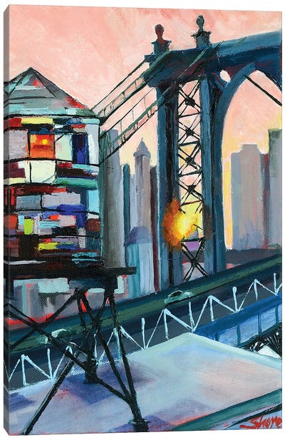 Love from the BQE Canvas Art Print