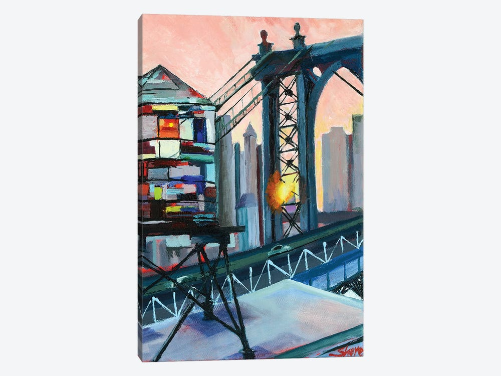 Love from the BQE by Maxine Shore 1-piece Canvas Art Print
