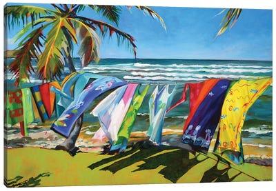 Tropical  Breezes Canvas Art Print