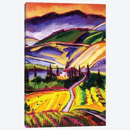 Tuscanny Canvas Print #SHO31} by Maxine Shore Canvas Wall Art