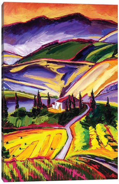 Tuscanny Canvas Art Print