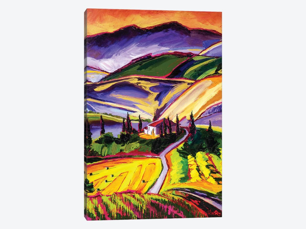Tuscanny by Maxine Shore 1-piece Canvas Print