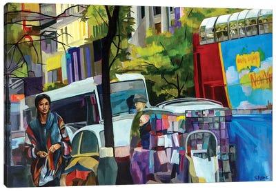 125th Street Canvas Art Print