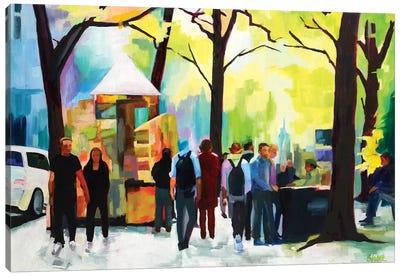Sunday In The Park Canvas Art Print