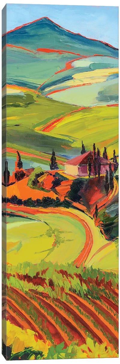 Tuscan Countryside Canvas Art Print