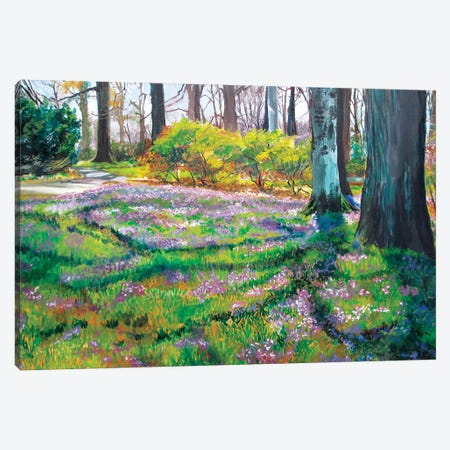 Early Spring Canvas Print #SHO39} by Maxine Shore Canvas Wall Art