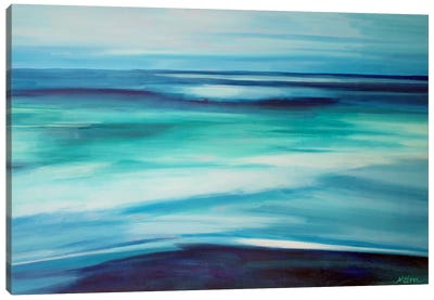 Blue Ocean Canvas Art Print