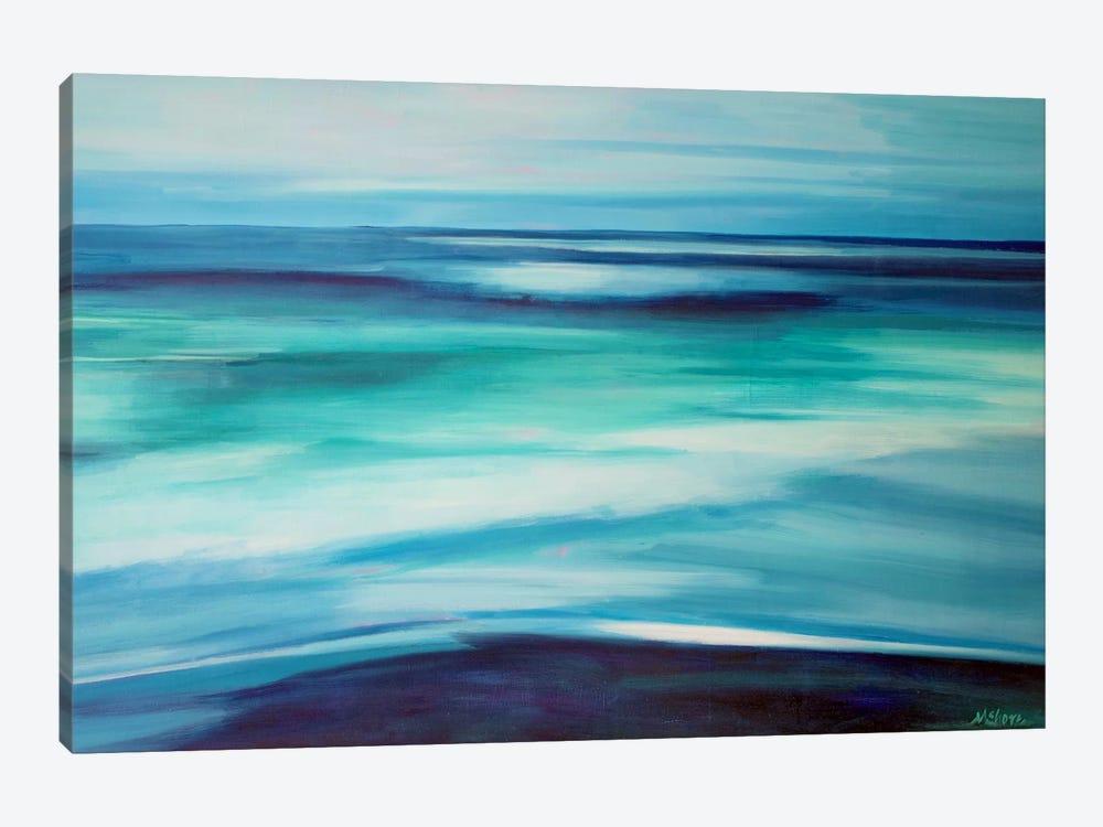 Blue Ocean by Maxine Shore 1-piece Canvas Wall Art