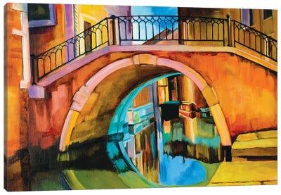 Venetian Bridge Canvas Art Print
