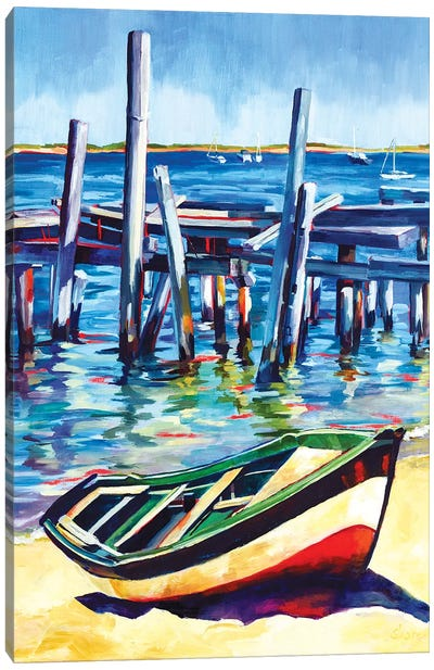 Cape Cod Bay Canvas Art Print