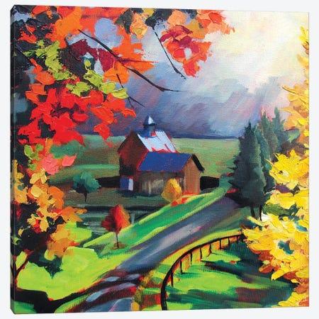 Borrowed Light Canvas Print #SHO46} by Maxine Shore Canvas Wall Art