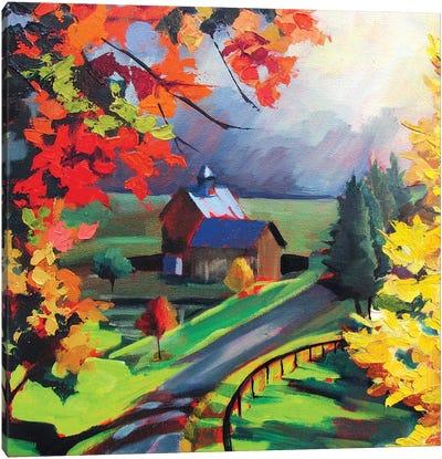 Borrowed Light Canvas Art Print