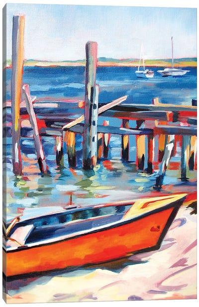 Provincetown Harbor Canvas Art Print