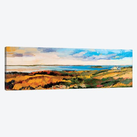 Cape Cod Vista Canvas Print #SHO4} by Maxine Shore Canvas Artwork