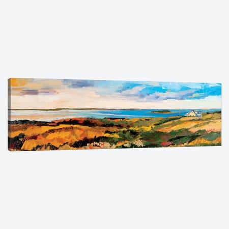 Cape Cod Vista 3-Piece Canvas #SHO4} by Maxine Shore Canvas Artwork